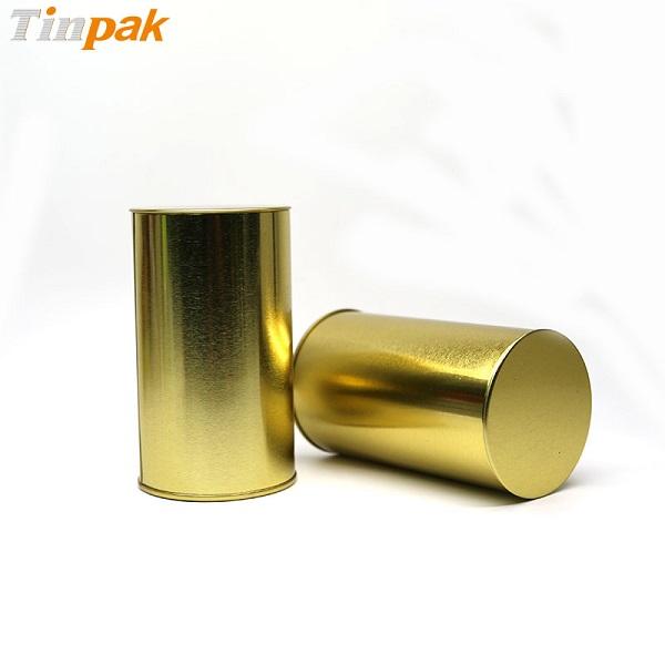 empty golden round biscuit tin box wholesaler