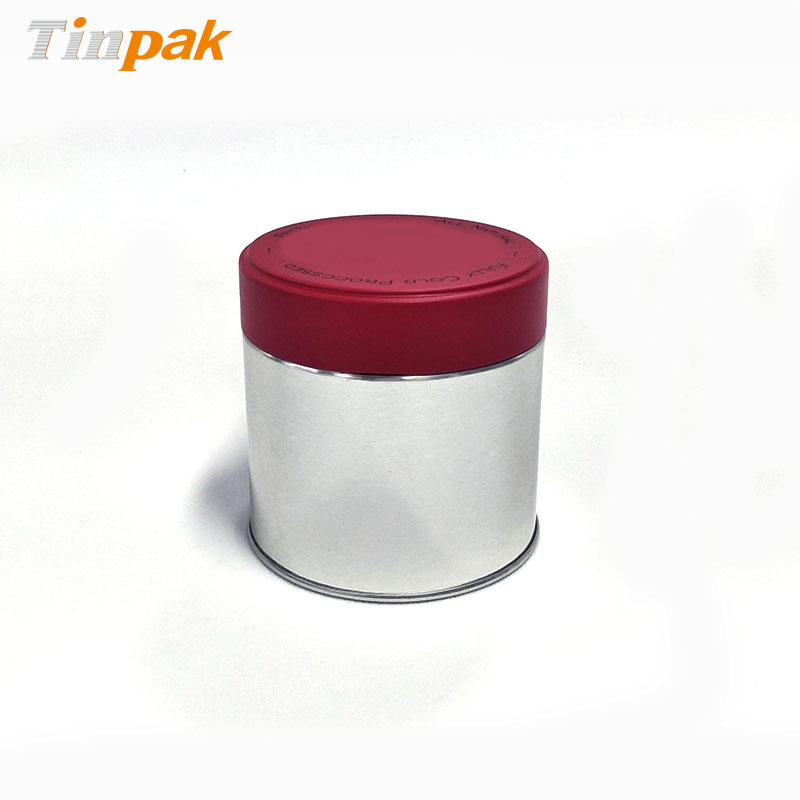 customized round metal boxes with twist lids