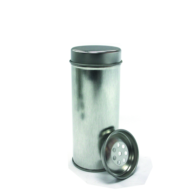 Small Magnetic Round Spice Metal Canister