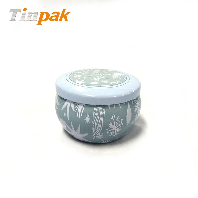 Empty Luxury Candle Tin Jar with Lid