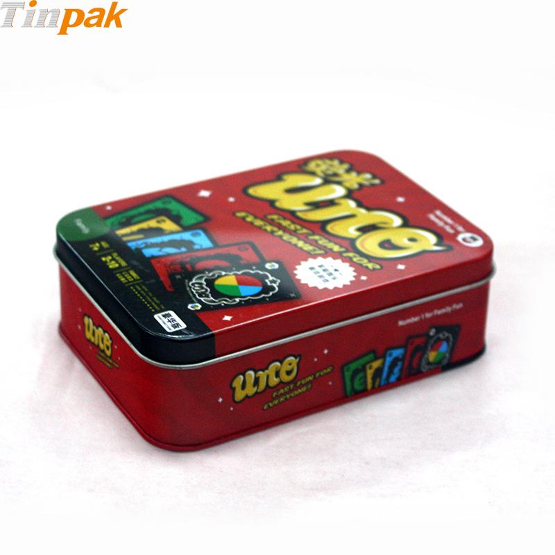 Custom pokemon booster metal game card box