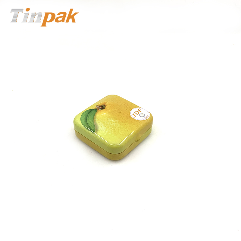 Small square gift candy box tin factory