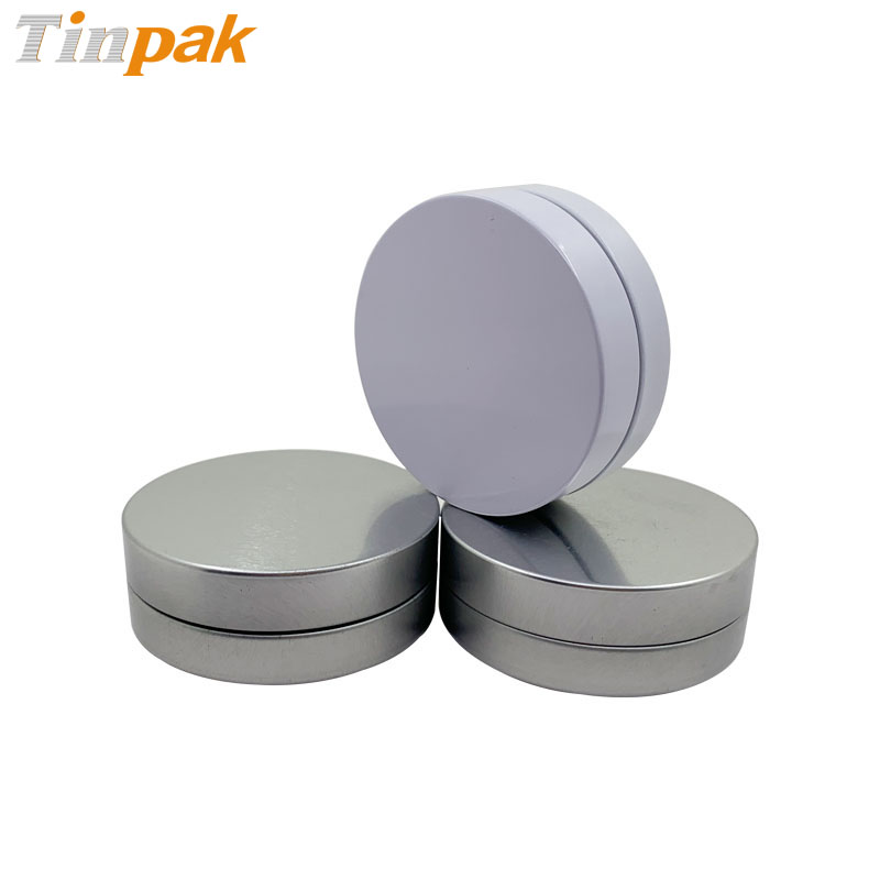 Round Screw Top Child-Resistant Packaging Tin Box for Cannabis-infused gummies